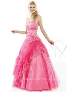 Lace hot pink prom dresses for sweet 16 on sale on onlinepromdress com