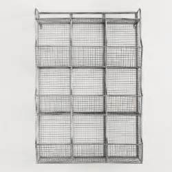 metal 9 cubby wall storage world market