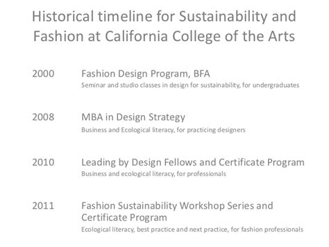 Mba And Sustainability Curriculum by Cca S Fashion Sustainability August Waste Workshop