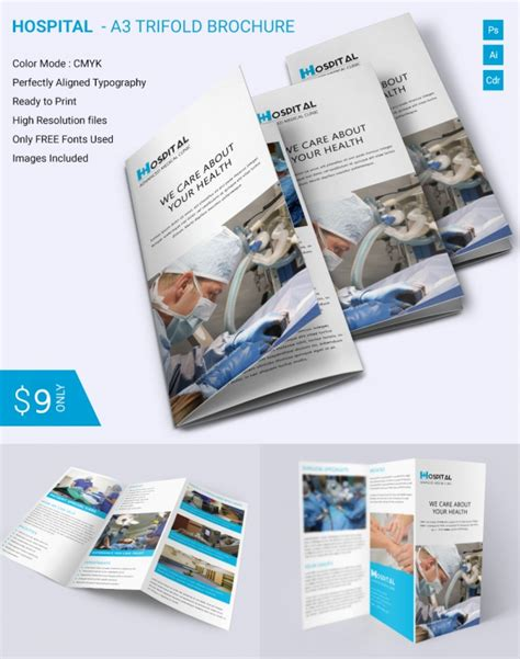 2016 tri fold brochure ms word example trifold template flyer free