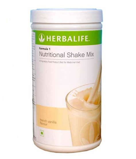 1 weight loss shake herbalife formula 1 shake mix vanilla flavour 500 gm
