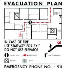 occupant emergency plan template dining dining