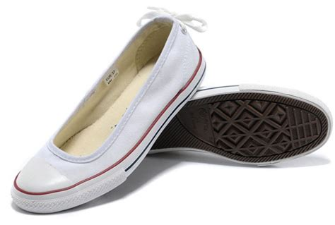 flat converse shoes 2013 converse all light summer white ballet flats