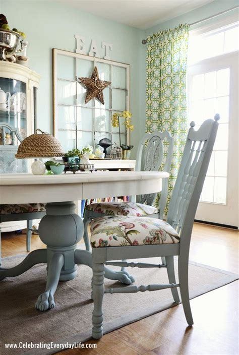Dining Room Table And Chairs Makeover With Annie Sloan Chalk Paint Dining Room Table