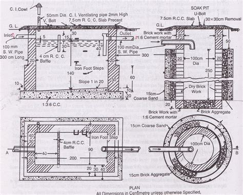 design criteria for septic tank septic tank and soak pit best image hd