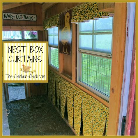 chicken house curtains the chicken chick 174 chicken nest box curtains more than a