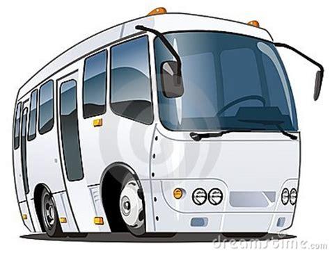 vector cartoon bus royalty  stock  image