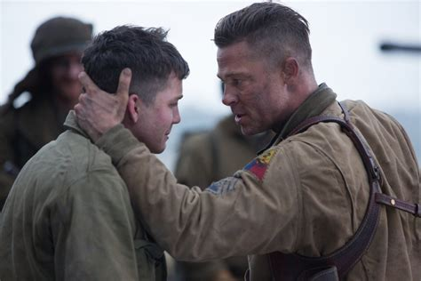 wardaddy hairstyle brad pitt fury 2014 movie hairstyle strayhair