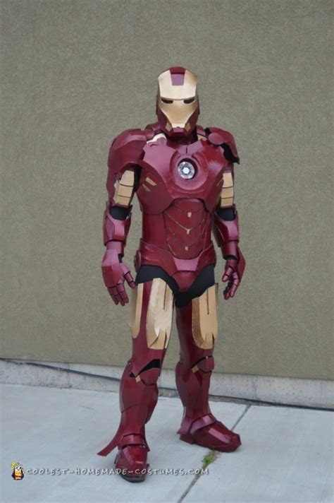 months create perfect iron man mark suitcostume