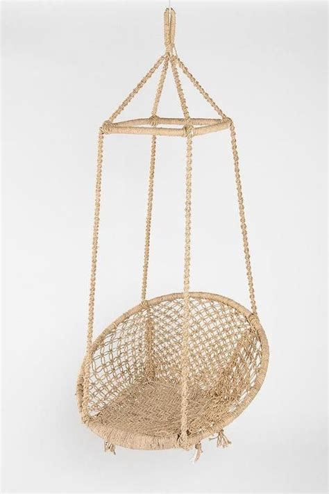 indoor chair swing seating fes swing chair i urban outfitters jute swing