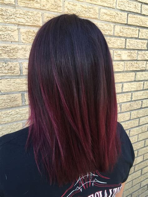 maroon color hair 30 maroon hair color ideas for sultry reddish brown styles
