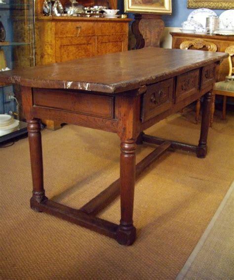 tavoli in castagno tavolo scrittoio in castagno massello galatea arte