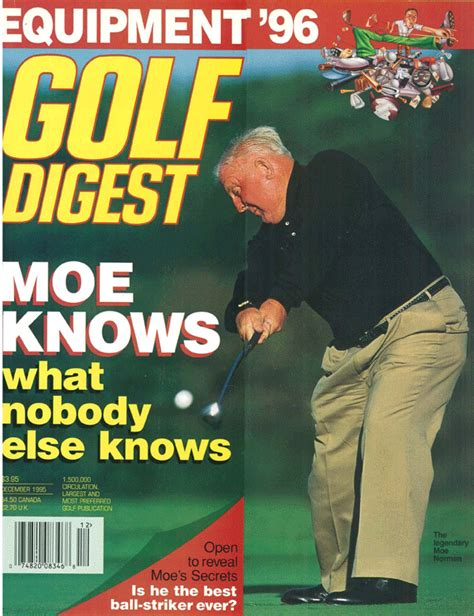 one plane golf swing golf digest moe norman golf the single plane golf swing of moe norman