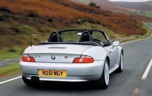 bmw z3 roadster 1996 2002 driving performance parkers
