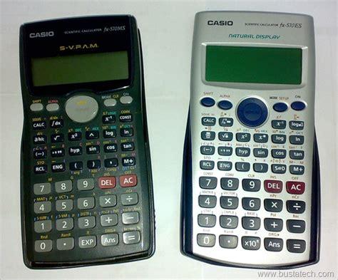 casio fx es scientific calculator tweak bust  tech