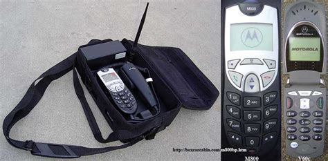 alltel verizon motorola m800 digital analog bag phone