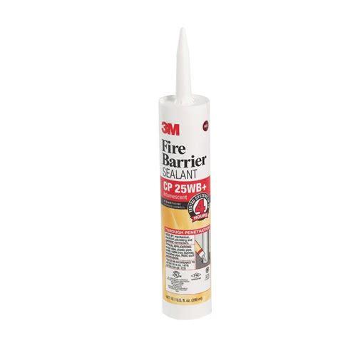 3m Barrier Sealant 1 3m 10 1 fl oz barrier sealant caulk cp 25wb plus cp
