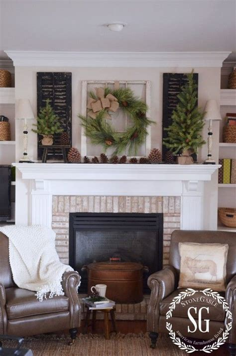 10 gorgeous farmhouse style mantels from the