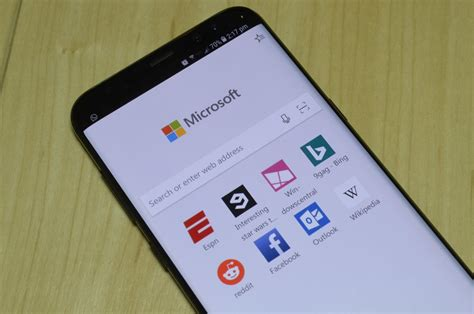 android edge even in preview edge on android already shows promise windows central