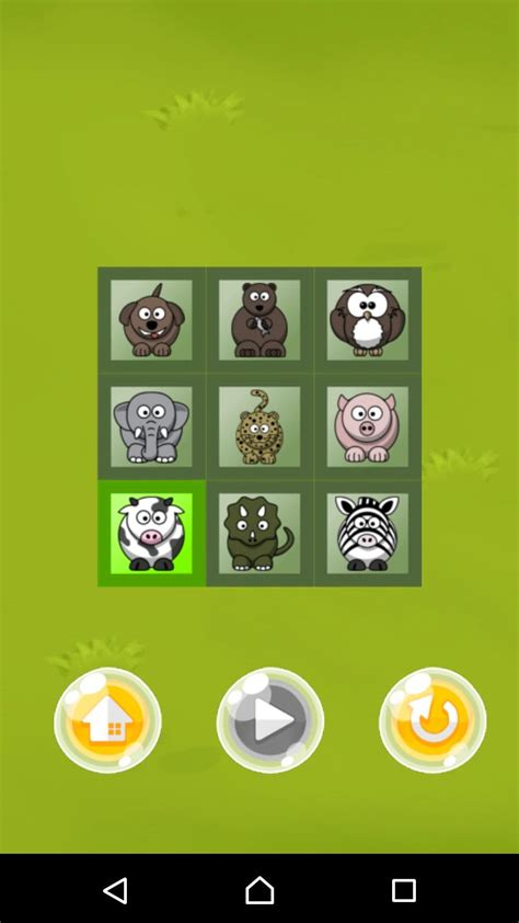 Memory Android memory android source code puzzle templates for android codester