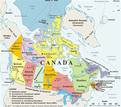 map for canada vancouver canada map