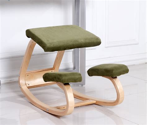 Computer Desk Stool Aliexpress Buy Original Ergonomic Computer Desk Kneeling Chair Stool Home Office Furniture