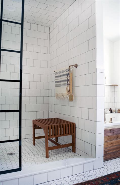 Modern Vintage Bathroom Reveal Brepurposed Vintage Modern Bathroom