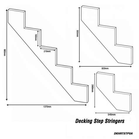 treppe abmessungen stair stringer dimensions stairs design ideas