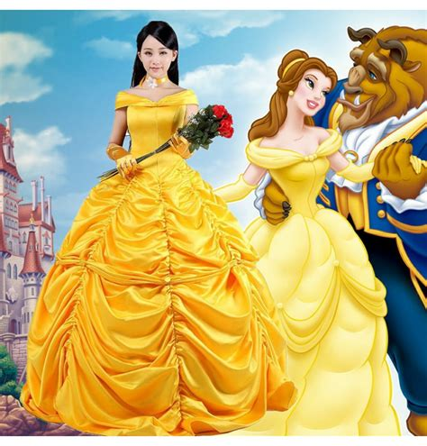 Buy Beauty And The Beast Costumes   TimeCosplay