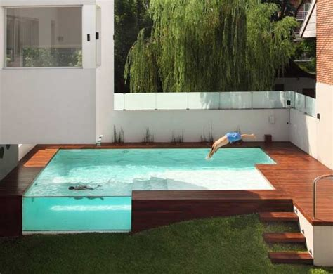 coolest latest gadgets aboveground outdoor pool devoto awesome above ground outdoor pool 10 pics my modern met