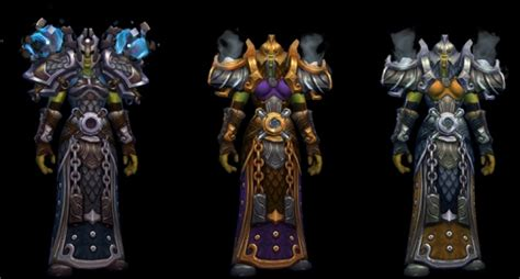 pug wow here are the tier 17 armor sets non pug wow raiders can loot in highmaul
