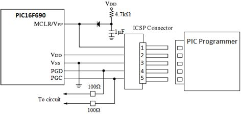 connect  icsp interface