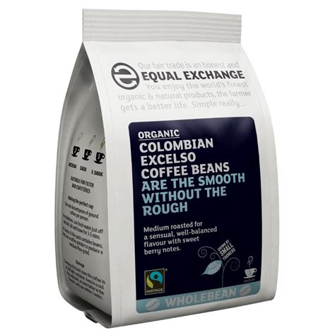 Coffee Bean Excelso equal exchange organic excelso whole coffee