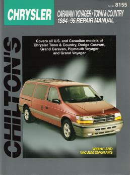 automotive service manuals 1997 plymouth grand voyager engine control 1984 1995 chrysler town country dodge caravan plymouth voyager chilton manual