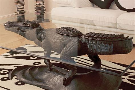 Bespoke Bronze Sculpture Mark Stoddart Owners Club Hippo Coffee Table