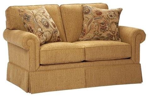 Broyhill Upholstery Fabric by Broyhill Wheat Loveseat 012673 1q Traditional
