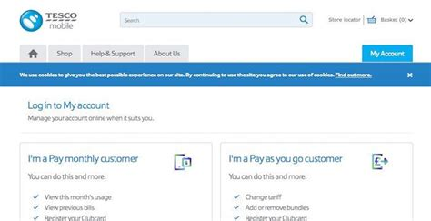 tesco mobile sign in 1000 ideas about tesco website on