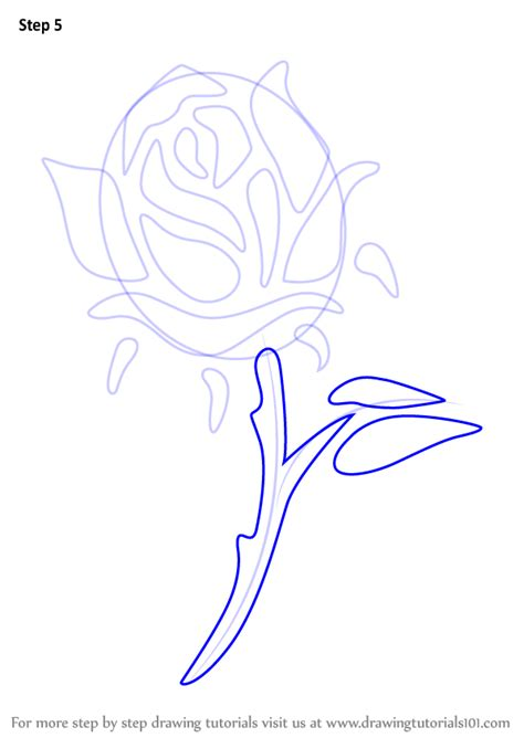rose tattoo tutorial learn how to draw a step by step