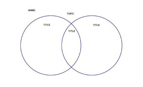 36 venn diagram templatees free premium templates
