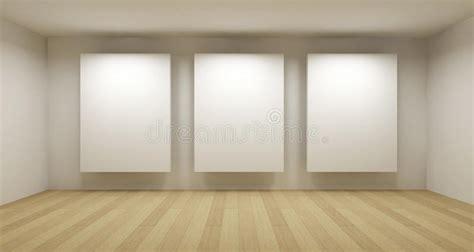Floor To Ceiling Window empty gallery 3d room stock illustration illustration of