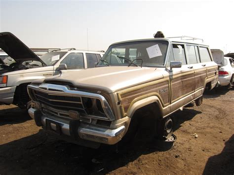 Jeep Junkyard Junkyard Find 1989 Jeep Grand Wagoneer The About Cars