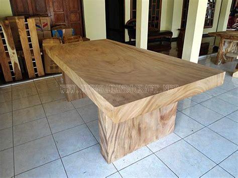 Meja Kayu Besar best seller meja makan besar kayu trembesi harga murah