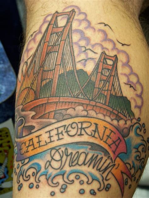 bridge tattoo golden gate bridge tattoos i like