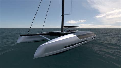 charter catamaran design isaac burrough 60 metre sailing catamaran superyacht