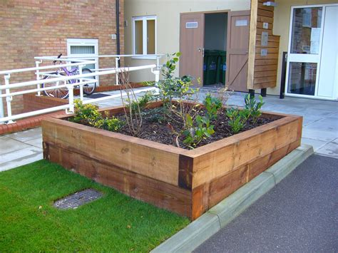 Garden Sleeper by Garden Sleepers Danbury Fencing