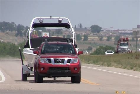 Nissan Frontier Towing by 2013 Nissan Frontier Pro 4x 0 60 Mph Towing Test