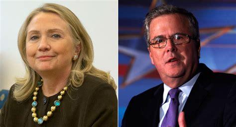 Bush Vs Clinton by Back To The Future Clinton Vs Bush Politico