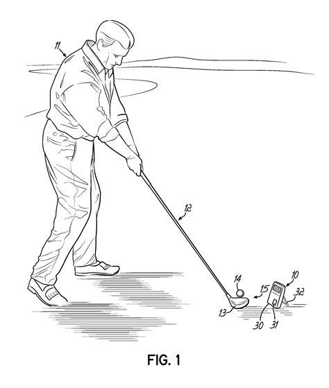 measure golf club swing speed patent us8007367 miniature radar for measuring club head