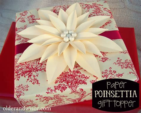 How To Make A Paper Poinsettia - and wisor pimp yo presents tip 1 diy paper