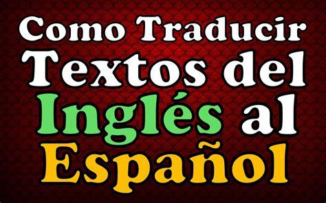 pattern making traduccion en español traductor online de google como traducir palabras ingles